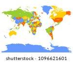 horizontally flipped political... | Shutterstock .eps vector #1096621601
