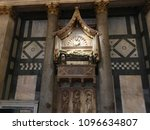 the baptistery of san giovanni  ... | Shutterstock . vector #1096634807