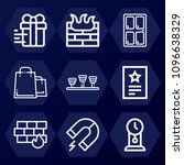 outline  set of 9 other icons... | Shutterstock .eps vector #1096638329