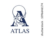 logo atlas vector eps 10   Shutterstock .eps vector #1096646174