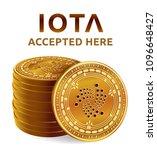 iota. accepted sign emblem.... | Shutterstock .eps vector #1096648427