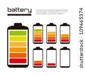 battery load illustration... | Shutterstock .eps vector #109665374