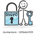 general data protection... | Shutterstock .eps vector #1096661939