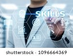 skill knowledge ability... | Shutterstock . vector #1096664369