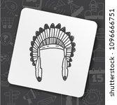 icon idea art bug face   Shutterstock .eps vector #1096666751