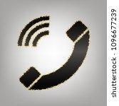 phone sign illustration. vector.... | Shutterstock .eps vector #1096677239