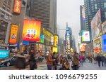 new york city  ny   april 26... | Shutterstock . vector #1096679255
