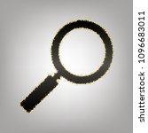 zoom sign illustration. vector. ... | Shutterstock .eps vector #1096683011