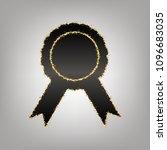 label sign ribbons. vector.... | Shutterstock .eps vector #1096683035