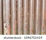 rusty surface of metal plate... | Shutterstock . vector #1096701419