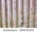 rusty surface of metal plate... | Shutterstock . vector #1096701425
