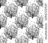 seamless pattern with tree of... | Shutterstock .eps vector #1096722929