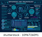 orthopedics and traumatology... | Shutterstock .eps vector #1096726091
