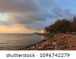 morning sea view colorful | Shutterstock . vector #1096742279