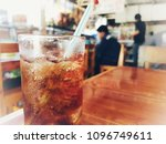 drink for lunch time | Shutterstock . vector #1096749611