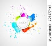 vector abstract background | Shutterstock .eps vector #109677464