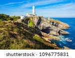 faro cabo mayor lighthouse in... | Shutterstock . vector #1096775831