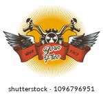 biker club colorful emblem.... | Shutterstock .eps vector #1096796951