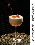 freshly vera cocktail on stand... | Shutterstock . vector #1096798415