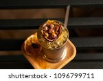 mariachi cocktail on bar table. ... | Shutterstock . vector #1096799711