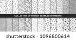 big collection of memphis...   Shutterstock .eps vector #1096800614