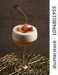 freshly vera cocktail on stand... | Shutterstock . vector #1096801955
