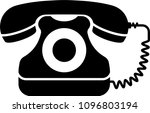 Telephone Icon  Phone Vector...