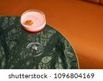 classical katana cocktail on... | Shutterstock . vector #1096804169