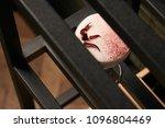classical katana cocktail on... | Shutterstock . vector #1096804469