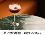 classical katana cocktail on... | Shutterstock . vector #1096804529