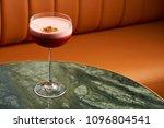 classical katana cocktail on... | Shutterstock . vector #1096804541
