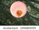 classical katana cocktail on... | Shutterstock . vector #1096804559