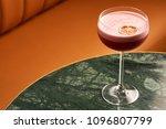 classical katana cocktail on... | Shutterstock . vector #1096807799