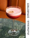 classical katana cocktail on... | Shutterstock . vector #1096807805