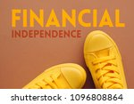 financial independence concept  ... | Shutterstock . vector #1096808864