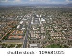 Aerial View Of Homes And...