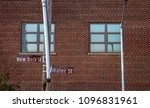 brooklyn window and street signs | Shutterstock . vector #1096831961