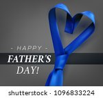 fathers day gift post greeting... | Shutterstock .eps vector #1096833224