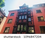 architecture in france | Shutterstock . vector #1096847204