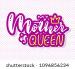 happy mother's day postcard.... | Shutterstock .eps vector #1096856234