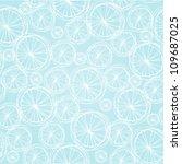 seamless light blue summer... | Shutterstock .eps vector #109687025