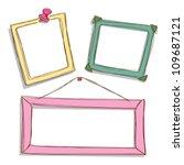 cute frame | Shutterstock .eps vector #109687121