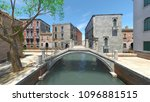 3d cg rendering of the waterway | Shutterstock . vector #1096881515