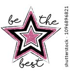 shine like a star | Shutterstock .eps vector #1096896821
