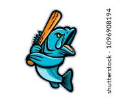 mascot icon illustration of a... | Shutterstock .eps vector #1096908194