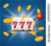 big win slots 777 banner casino | Shutterstock .eps vector #1096909391