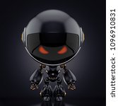 Cute Robot Toy  3d Rendering