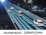 traffic management system...   Shutterstock . vector #1096911944