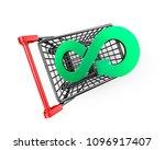 circular economy concept. green ...   Shutterstock . vector #1096917407