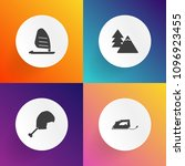modern  simple vector icon set... | Shutterstock .eps vector #1096923455